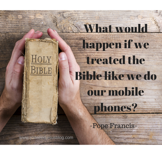What would happen if we treated the bible like we treated our mobile phones?.png